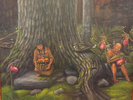 """The Little People 24"""" x 30"""" Oil on Canvas. $1,500"""