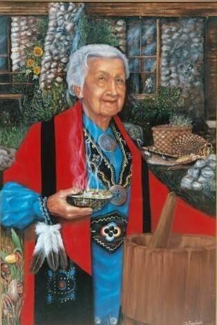 "Medicine Woman. 24"" x 36"" Oil on Canvas $1,500 (1)"