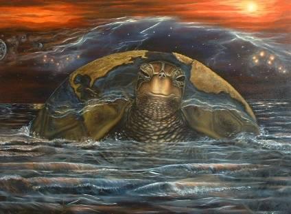 Creation Story. 3' x 4' Oil on Canvas. $1,500