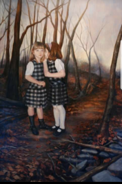 The secret. 5' x 6' (In the collection of Dr. and Mrs. Wayne Southwick)