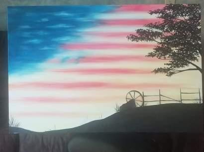 Patriotic Landscape