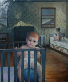 """Abandoned. 18"""" x 24"""" Oil on Panel (In the collection of Sally Jessy Raphael)"""